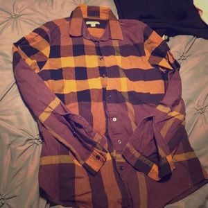 Long sleeve Burberry button down